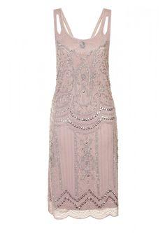 Ziegfeld Embellished Dress Blush - Dresses - Clothing