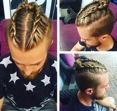Man Braids Are The New Man Bun