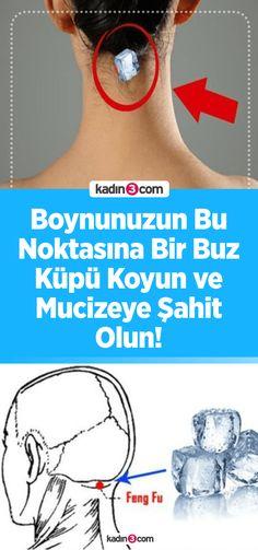 Boynunuzun Bu Noktasına Bir Buz Küpü Koyun ve Mucizeye Şahit Olun! Put an Ice Cube at this point of your neck and witness the miracle! What Happened To You, What Happens When You, Anne Fleck, Belleza Diy, Miracle, Thyroid Problems, Traditional Chinese Medicine, Varicose Veins, Natural Home Remedies