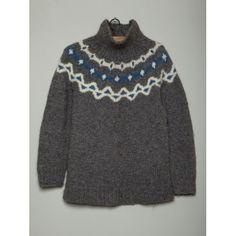 Vintage Nordic Wool Jumper