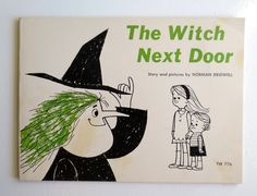 The Witch Next Door (1965) by Norman Bridwell - Vintage Scholastic Childrens' Book