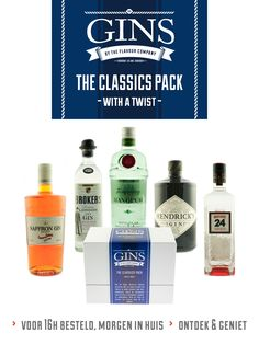 Gin - The Classics pack
