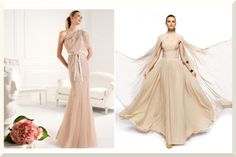 Pronovias....ahh Eff would kill for the one-shoulder!