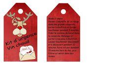 C'est tout Moi !: Cadeaux gourmands faits maison - Kit d'urgence Vin chaud Fresco, Kit, Xmas, Christmas, Homemade, Holiday Decor, Cookies, Recherche Google, Bullet