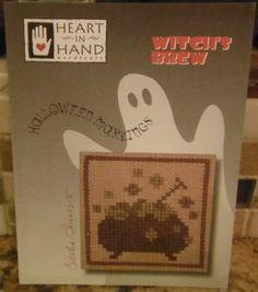 WITCHES BREW Cross Stitch Pattern Leaflet by CraftyCrossStitches, $5.00