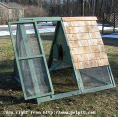 The MADISYN Chicken coop