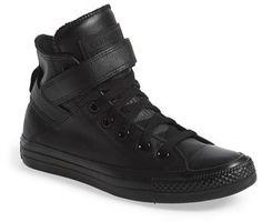Converse Chuck Taylor® All Star® 'Brea' Leather High Top Sneaker (Women)