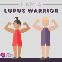 Share this graphic if you're a #LupusWarrior!