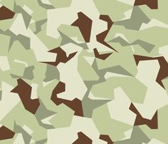 Swedish M90 Desert Camo fabric by ricraynor on Spoonflower - custom fabric