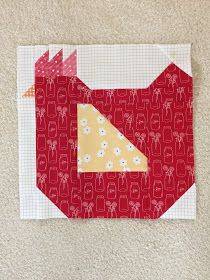 Fantastic patchwork quilts - pay a visit to our website for much more inspiring ideas! Quilt Baby, Cute Quilts, Mini Quilts, Farm Animal Quilt, Bird Quilt Blocks, Vogel Quilt, Barn Quilt Patterns, Quilting Patterns, Embroidery Patterns