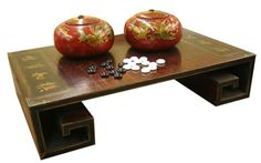 Collectible Chinese Antique Style Go Game Set  Price: $129.99