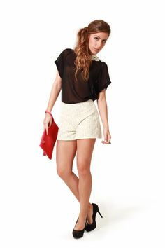 embroidered shorts!  On sale at http://iconicbarcelona.com/shop/product.php?id_product=83