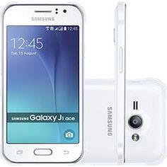 foto: Smartphone Samsung Galaxy J1 Ace Dual chip Memória interna de 8GB Câmera 5MP 4G Android 5.1 - Branco