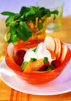 Find delicious recipes! Yummy Food, Delicious Recipes, Thai Red Curry, Cantaloupe, Creme, Fruit, Ethnic Recipes, Healthy Desserts, Delicious Food