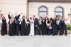 Purple Wedding Arrangements, Elegant Wedding, Rustic Wedding, Bridesmaid Dresses, Wedding Dresses, Bridesmaids, Country Club Wedding, Spring Wedding, Wedding Venues