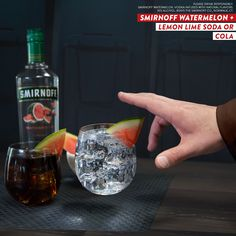 Bring balance to the The Force with these easy and delicious drinks. Just mix Smirnoff Watermelon with Cola OR Lemonlime Soda.