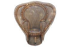 Peacock Throne Chair