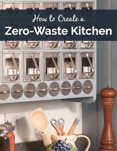 Great tips for creating a zero waste kitchen