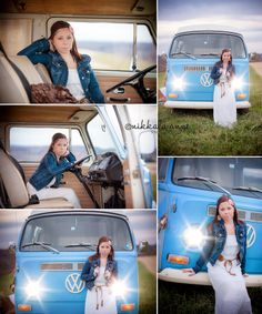 Daydream believin | Nikkala Anne Photography  family sisters girls photo session photography inspiration idea VW volkswagen bus boho inspired styling