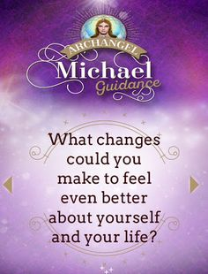 MAXMILLIAN THE SECOND: Archangel Michael Guide For The Day