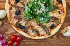 One of our many pizza recipes! Try all of them this July!
