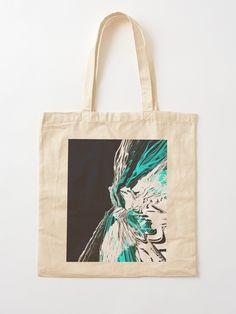 """The Abyss No.01"" Cotton Tote Bag, print design by Asmo Turunen. #design #totebag #shoppingbag #kestokassi #kangaskassi #atcreativevisuals"