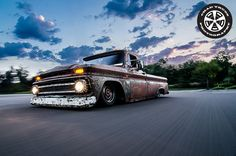 1966 Chevy C-20 Pickup on air