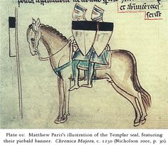 Heraldric colours of the Knights Templar