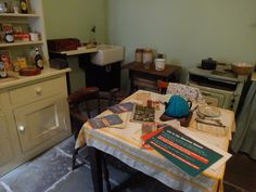The Wartime house Kitchen/Scullery