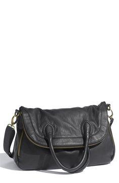 Tulu Foldover Faux Leather Crossbody Bag