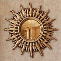 Resultado de imagem para espelho sol Sunburst Mirror, Mirror Work, Home Decor, Mirrors, Sun, Decoration Home, Room Decor, Home Interior Design, Home Decoration