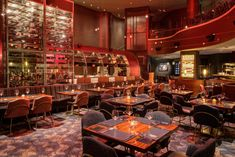 Gordon Ramsay Steak Debuts New Design and Menu at Paris Las Vegas · EDGe Vegas Gordon Ramsay Steak, Paris Las Vegas, Watermelon Radish, Las Vegas Restaurants, Cocktail Desserts, Private Dining Room, Bar Menu