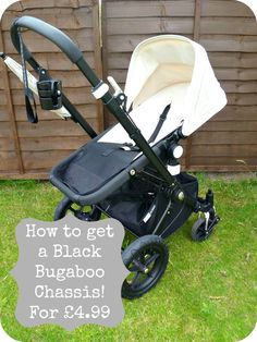 """Have you always wanted a Black Bugaboo Frog, Gecko and Cameleon Chassis, but cant afford the """"Genuine"""" Price Tag??? Then look no further. Here I will show you h"""