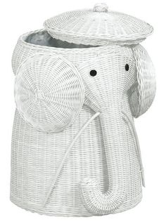 Rattan Elephant Hamper - Laundry Hampers - Home and Garden Design Ideas