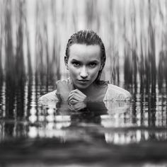 Night Life a water picture by photographer Wayne Lawes. Related to: photos ,portrait ,Black & White ,square ,water