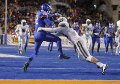 Boise State defeats Utah State 50-19 in a Mountain West Conference football game Saturday, Nov. 29, 2014 at Albertsons Stadium in Boise.