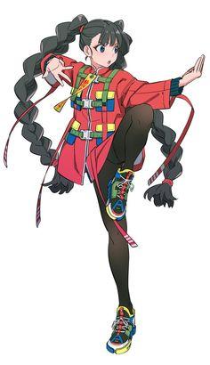 Pin de line en 二 次 元 en 2019 manga art, character design y anime art. Character Poses, Female Character Design, Character Design References, Character Design Inspiration, Character Concept, Character Art, Anime Character Drawing, Animation Character, Character Sketches