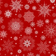 Red and White Christmas... snow flakes... LOVE!!!