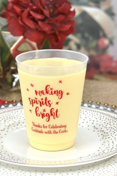 Christmas Frosted Cups 22 Let/'s Get Lit Frosted Cups Holidays Frosted Cups Winter Party Frosted Cup Favor Christmas Party Plastic Cups