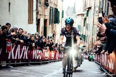 That feeling when you know you're about to win Strade Bianche