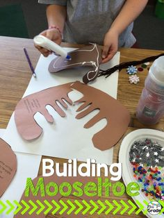 Building their own moose students are able to be creative and have fun!
