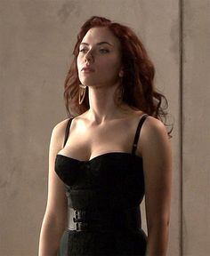 Scarlett Johansson - Black Widow, saving for 2015 Halloween costume. B wants us to be Black Widow and Iron Man