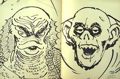 and everything else too: The Cool Ghoul Monster Coloring Book