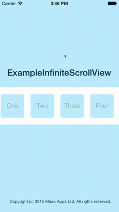 learn how to make a uicollectionview scrollable so that it never reaches an edge and loops