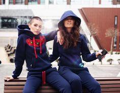 🔥Утеплённые женские спортивные костюмы с вышивкой Москва 2017