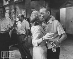 George Burns & Gracie Allen take a moment - married for 38 years
