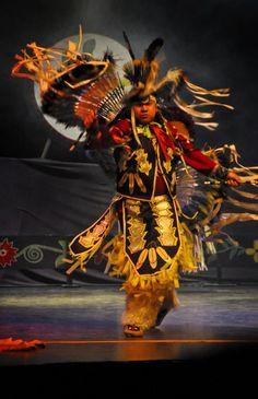 Traditional Ojibwe Dancer  by Jeff Rohloff
