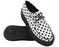 Black Dot Viva Mondo Creeper - T.U.K. Shoes   T.U.K. Shoes