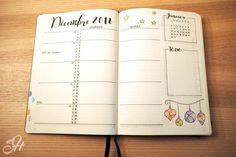 Décembre 2016 - planning mensuel
