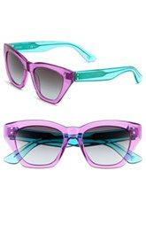 49bc06d3584ea Oxydo 51mm Cat-Eye Sunglasses Sunglasses Shop